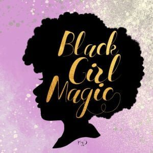 Black Girl Magic Logo